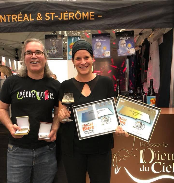 Brasserie Dieu du Ciel conquistou platina e ouro no Mondial de La Bière 2018 em Montreal (Foto: Divulgação)