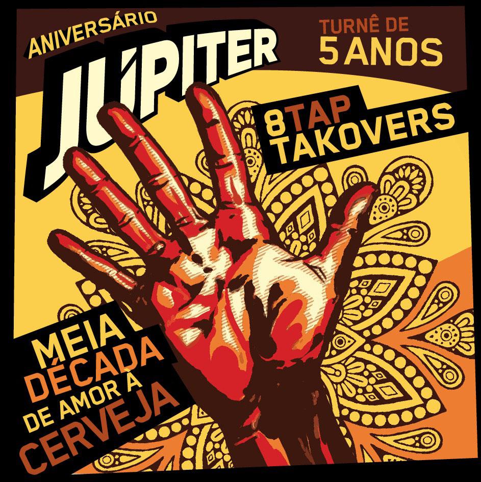 Peça de divulgação do aniversário da Júpiter (Foto: Divulgação)