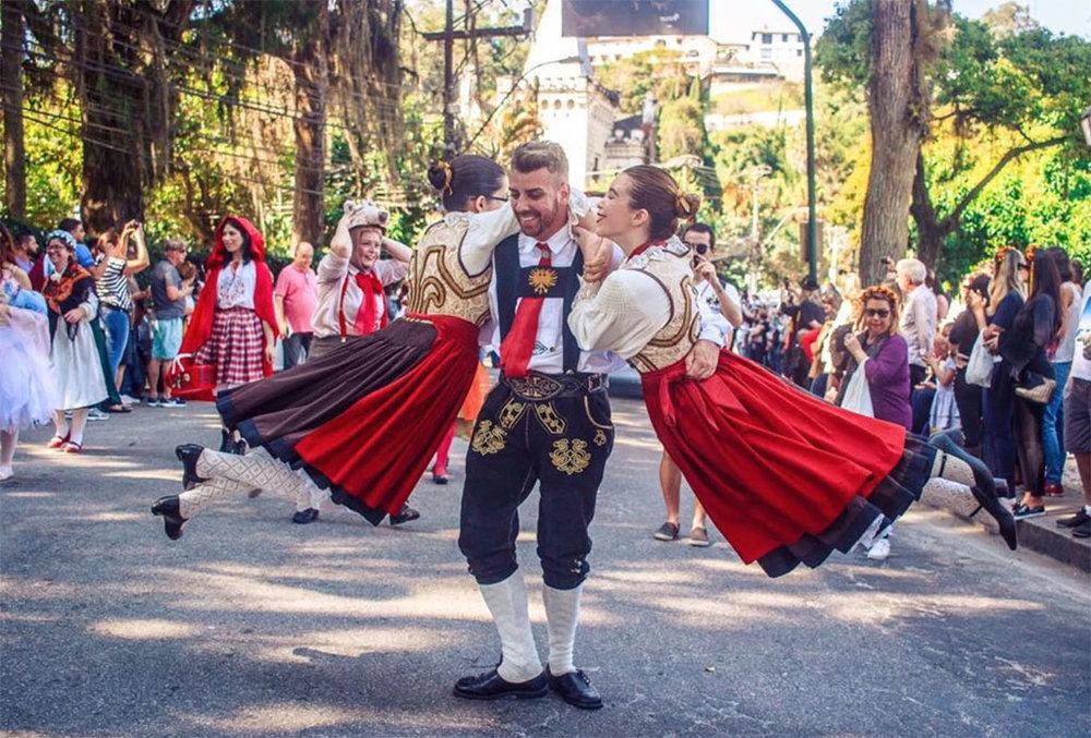 Depois das atrações no centro de Petrópolis, com a Bauernfest (foto), chega a vez de Itaipava (Foto: Divulgação)