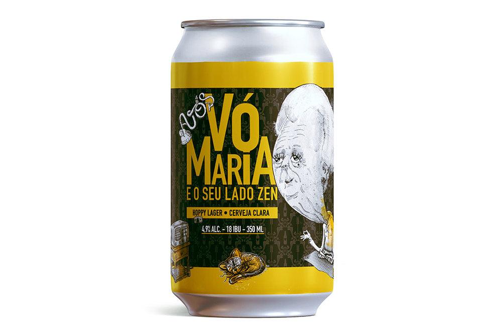 Hoppy Lager a partir de agora chega ao consumidor também em lata, via cadeia refrigerada (Foto: Divulgação)