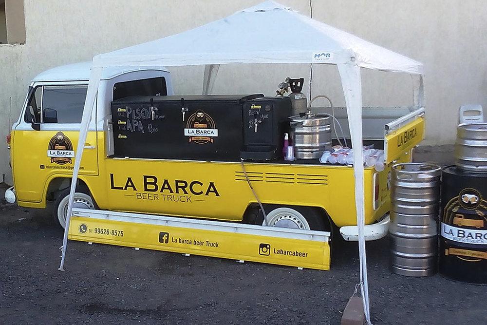 La Barca Beer Truck