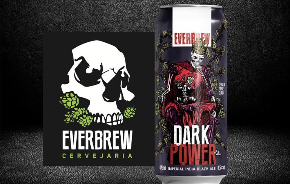 Nova cerveja da Everbrew é uma Imperial India Black Ale (Foto: Divulgação)