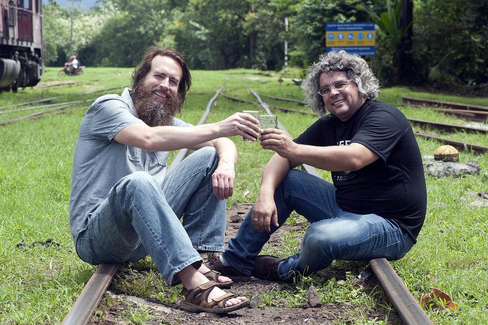 Greg Koch, convidado especial de Samuel Cavalcanti, já esteve no Beer Train 2013 (Foto: Denis Ferreira Netto/Divulgação)