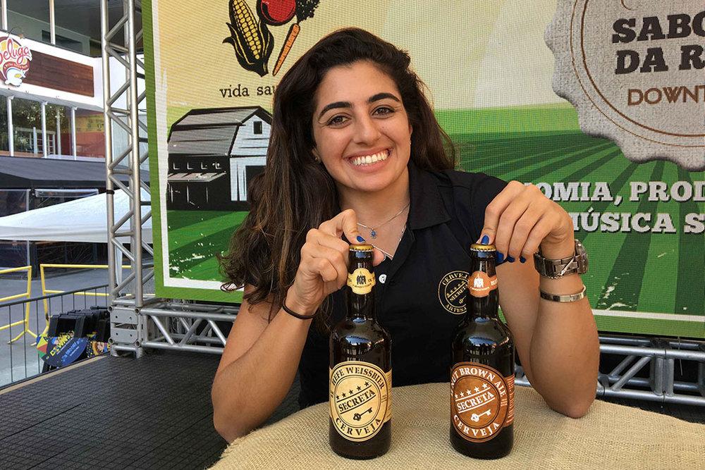 Cerveja Secreta é uma das atrações do evento Sabores da Roça Downtown (Foto: Divulgação)