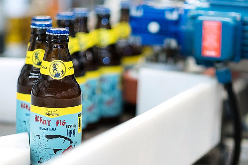 Blondine tem oito anos de história cervejeira e quatro de fábrica própria (Foto: Divulgação)