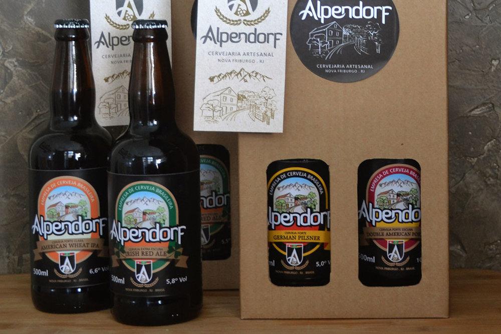 Kit Alpendorf estará a venda na fesa, que ocorre em 28 de julho, das 12h às 20h (Foto: Divulgação)