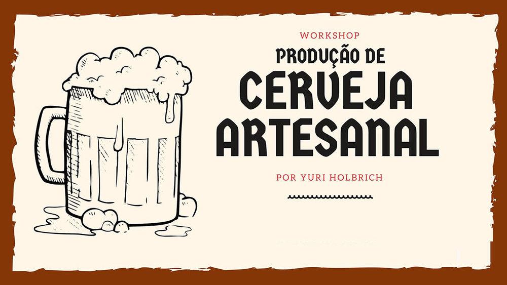 Workshops de Produção de Cerveja Artesanal são ministrados por Yuri Holbrich (Foto: Divulgação)