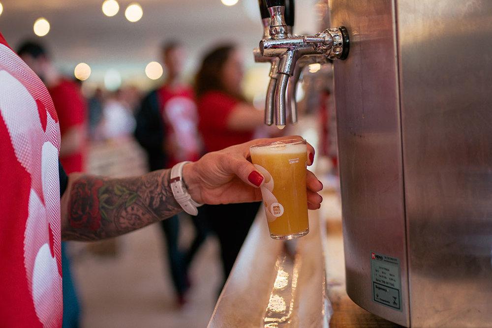 Evento reuniu opções de cerveja artesanal de todo o país (Foto: Izadora Padilha/Divulgação)