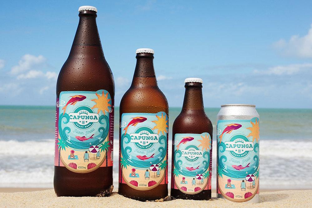A cerveja vem envasada nos formatos de 330 ml, 600 ml e 1 litro (Foto: Divulgação)