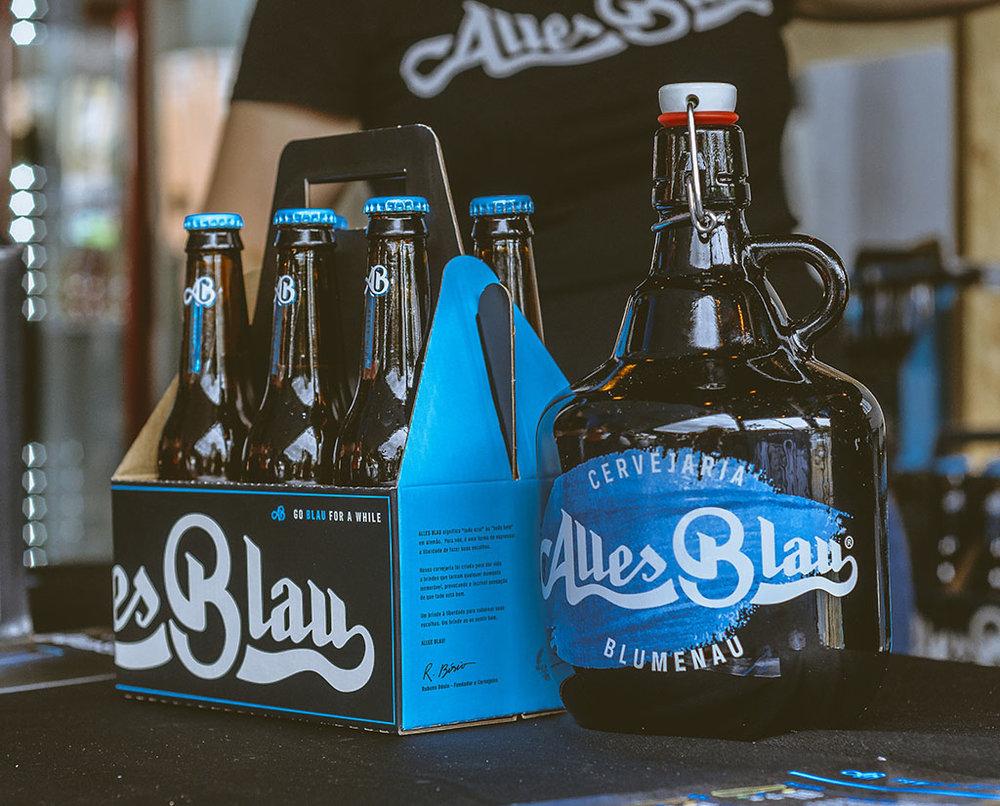 Alles Blau é de Blumenau, a terra do Festival Brasileiro da Cerveja (Foto: Divulgação)
