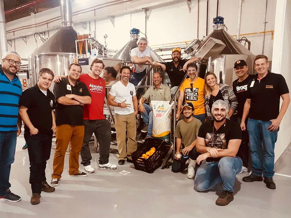 Cervejeiros da serra fluminense se unem em projeto que contou com colaboração da agricultura familiar (Foto: Divulgação)