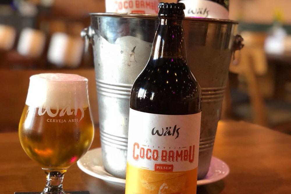 A Wäls Coco Bambu foi criada para harmonizar com os pratos do Coco Bambu (Foto: Divulgação)