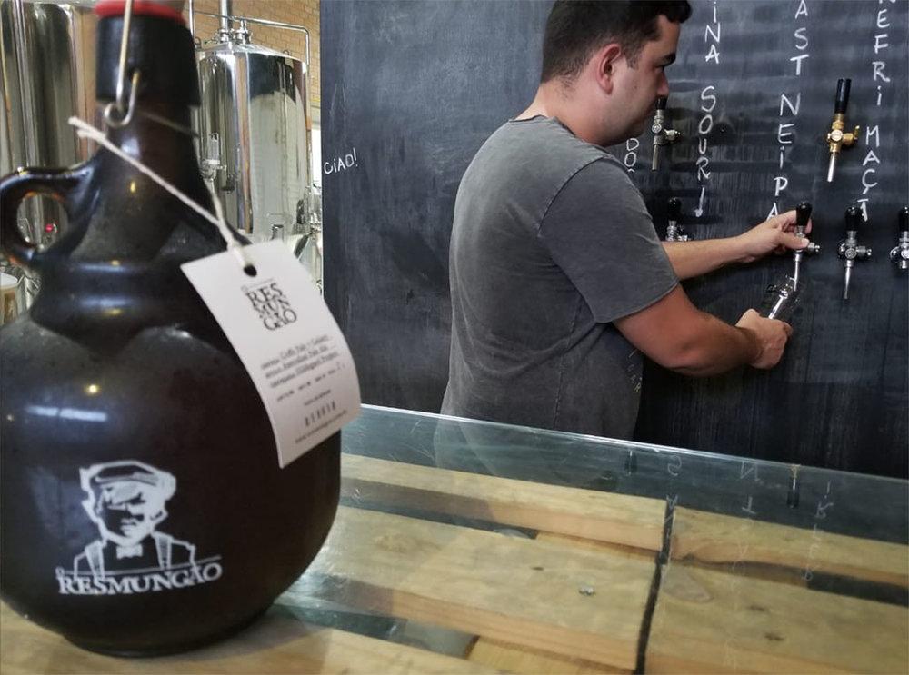 Cerveja produzida será distribuída pelo clube de assinatura de artesanais O Resmungão (Foto: Divulgação)