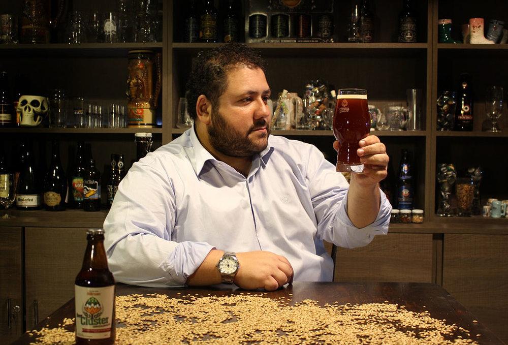 Carlo Bressiani dirige a Escola Superior de Cerveja e Malte, com sede em Blumenau (Foto: Divulgação)