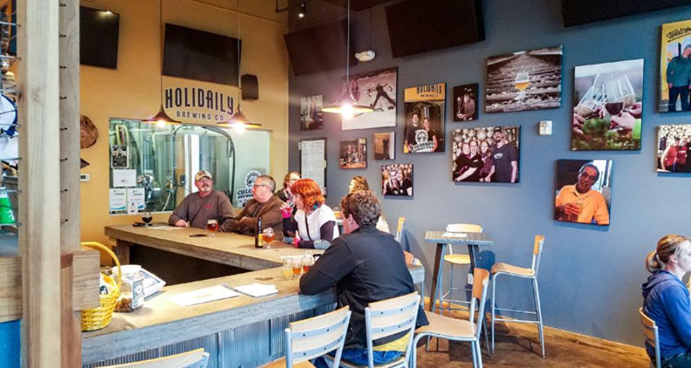 Pub Holidaily Brewing (Foto: Divulgação)