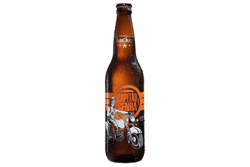 Amber Lager que hoje é uma das cervejas mais cultuadas da Backer foi lançada há seis anos, no aniversário do homenageado (Foto: Divulgação)