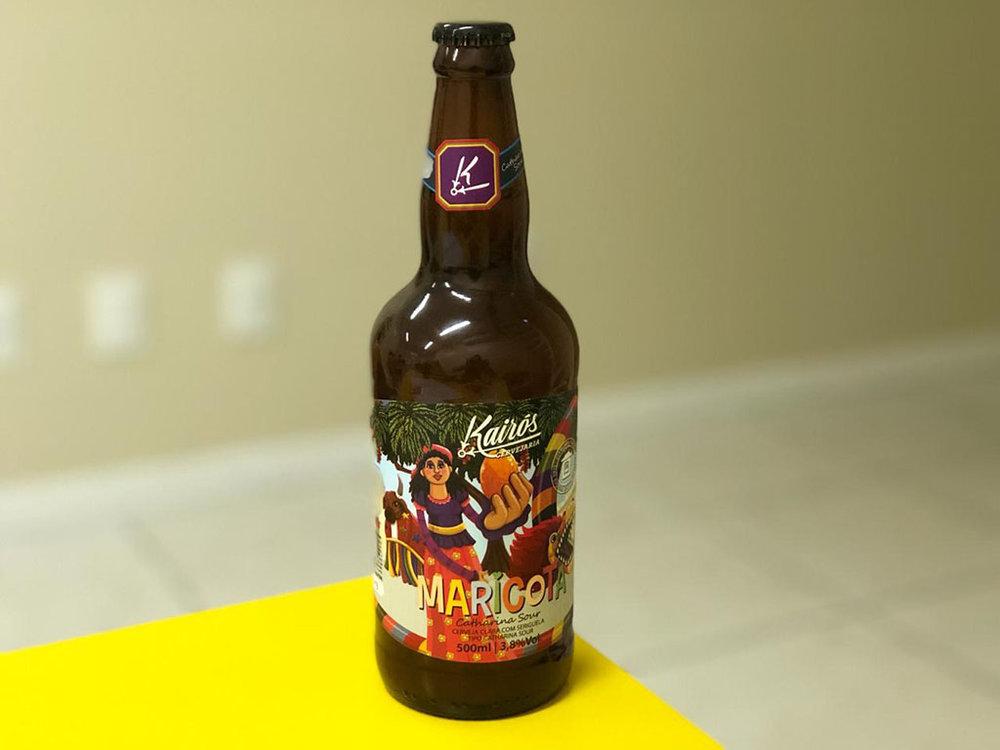 """Levemente ácida e muito refrescante, a nova cerveja faz parte da série """"Lendas da Ilha"""" (Foto: Divulgação)"""