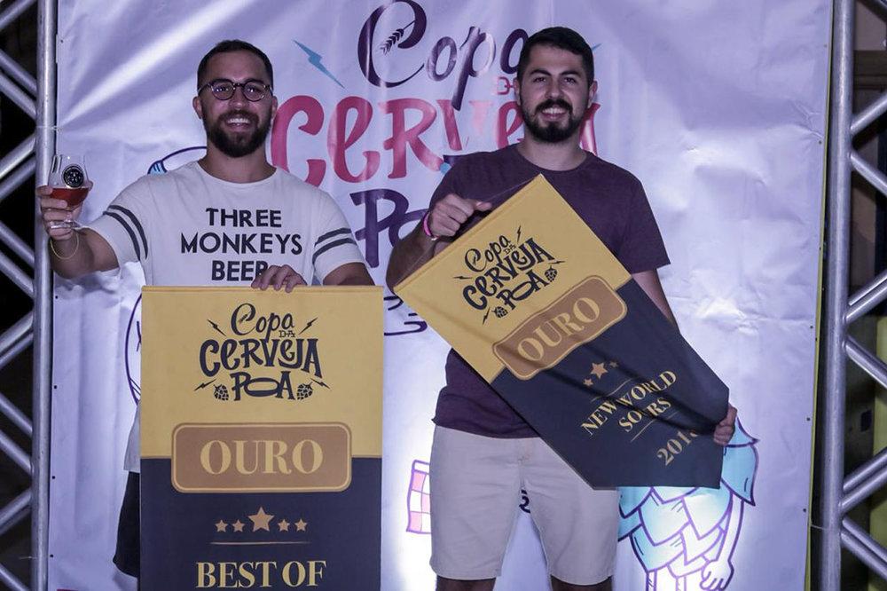 A melhor cerveja desta edição da Copa da Cerveja Poa é da Three Monkeys Beer (Foto: Divulgação)