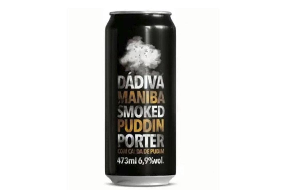 Vendida em latas de 473ml, Porter tem 6,9% de teor alcoólico (Foto: Divulgação)