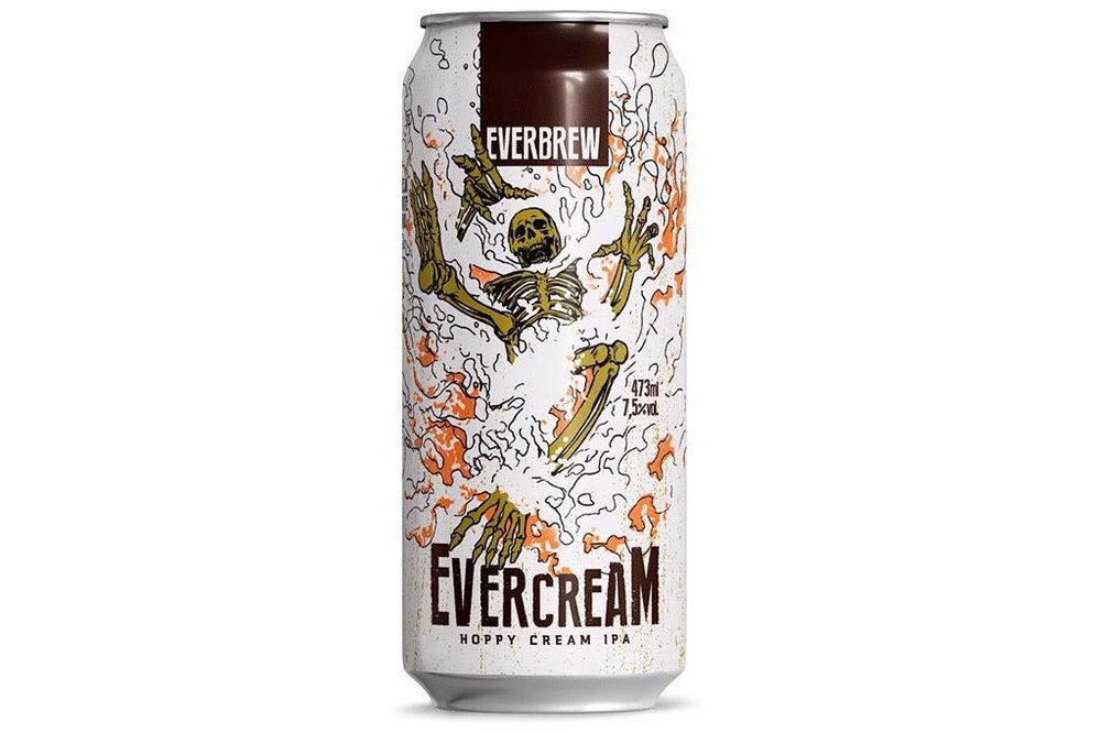 A nova cerveja tem 7,5% de teor alcoólico, sendo oferecida em dois formatos: lata (473ml) e chope (Foto: Divulgação)