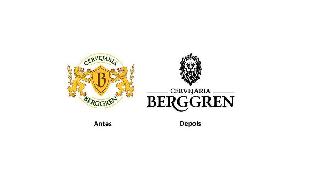 O que mudou no logo da cervejaria paulita (Fotos: Divulgação)