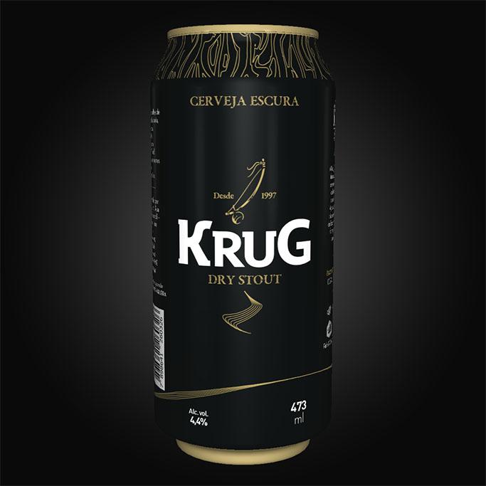 Antes a Krug Dry Stout era oferecida apenas em chope (Foto: Divulgação)
