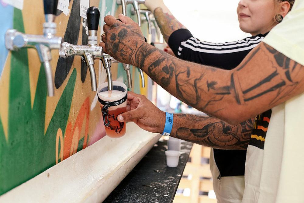 Way Summer Session, com entrada gratuita, oferece mais de 30 torneiras de chope (Foto: Divulgação)