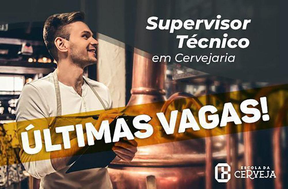 Cartaz do curso da Escola da Cerveja (Foto: Divulgação)