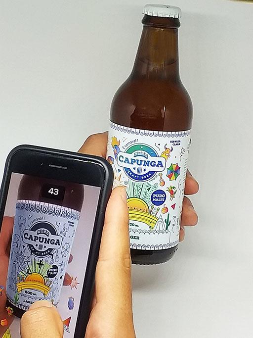 Plano é estender o app para outros rótulos da linha da Capunga (Foto: Divulgação)