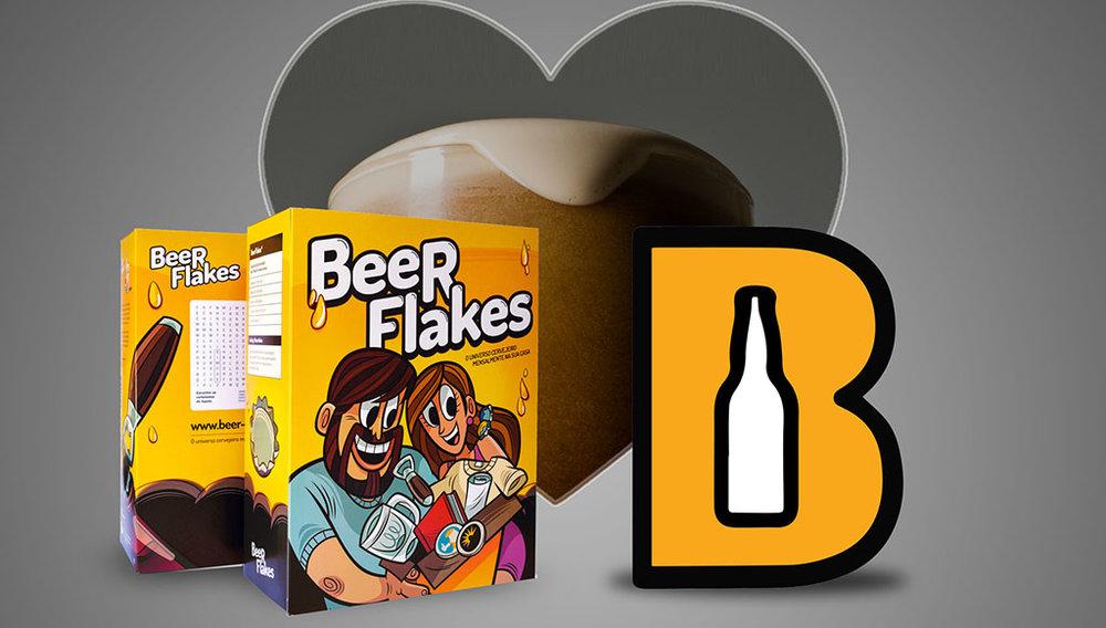 O Beer Flakes é uma caixa de tesouros com artigos relacionados ao universo cervejeiro (Foto: Divulgação)