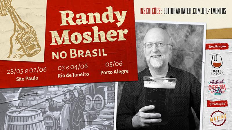 Randy Mosher é professor do Siebel Institute e autor de livros, entre os quais um que acaba de ser traduzido (Foto: Divulgação)
