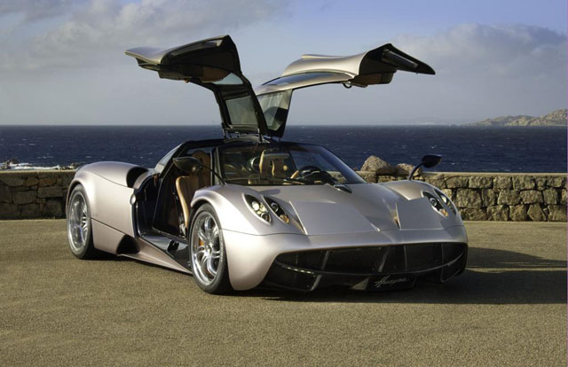 Forbes list starts with autos in the $1 million range.