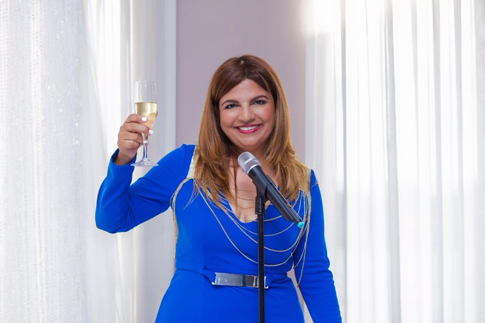 La empresaria Sharlanne Reyes