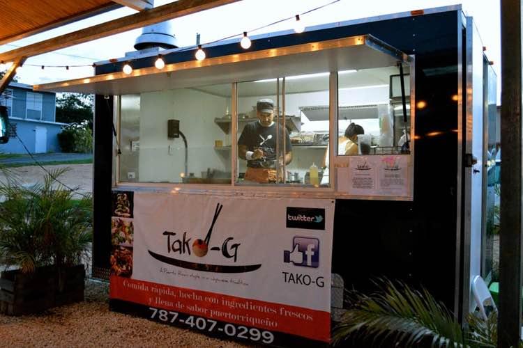 Tako-G en la Carr. 110 Aguadilla Food Truck Park