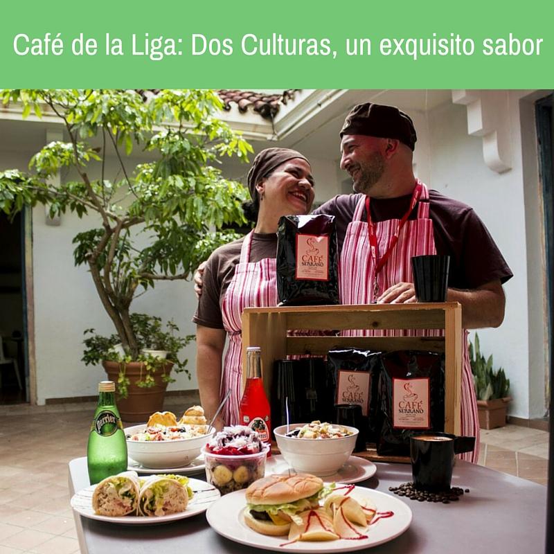 Tatyan y Angelo, Propietarios del Café de la Liga / Fotos: Félix Hernández
