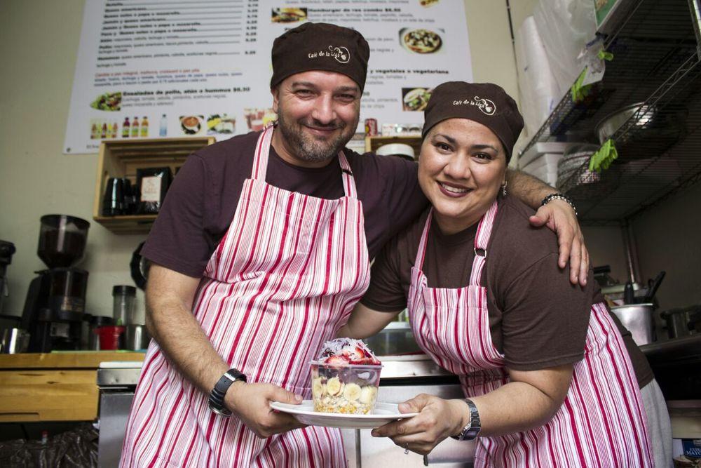Tatyan y Angelo disfrutan de trabajar en equipo y seguir ampliando su oferta