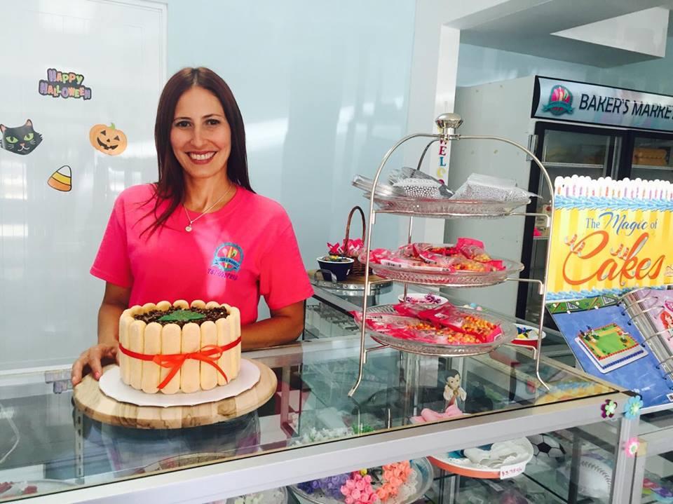 Joselyn Valentín propietaria de Baker's Market