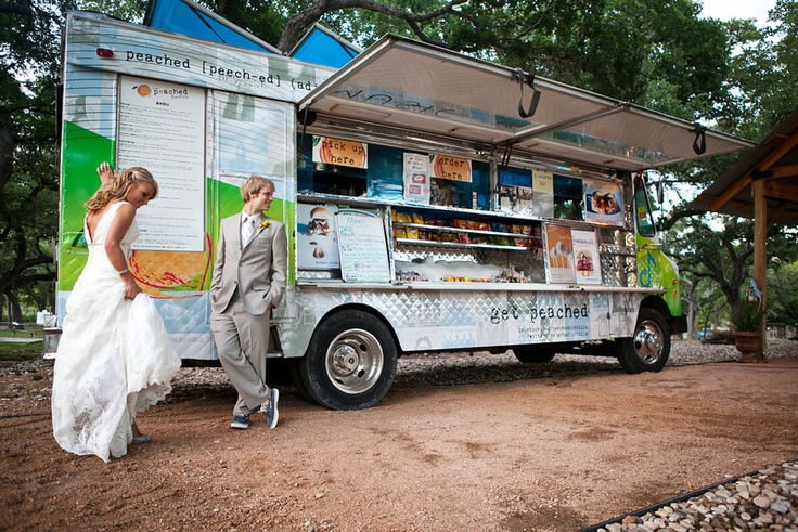 "Las ""Food Truck Weddings"" están de moda! Foto: Pinterest"