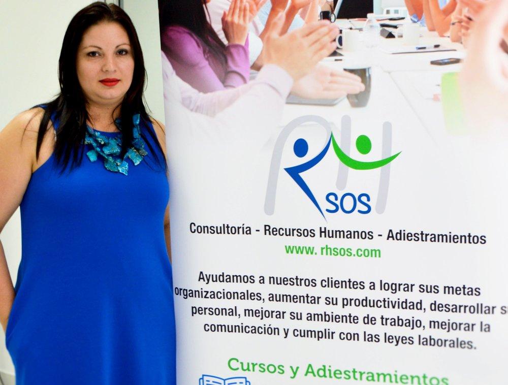 La empresaria Ivonne Cortés Rosado