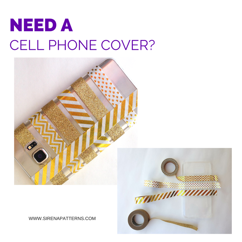 diy cell phone cover