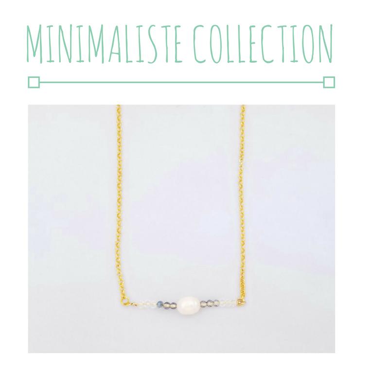 minimalist bar necklace gold jewelry