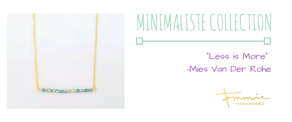 minimalist jewelry bar necklace