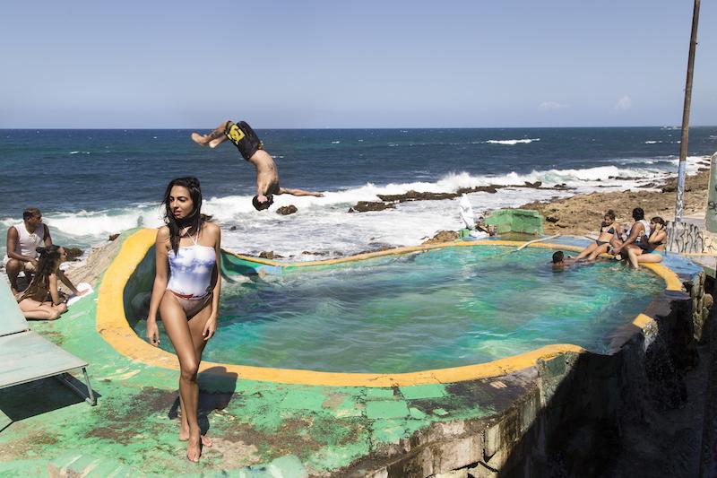 Puerto Rico Crashboat Beach  one piece swimsuit