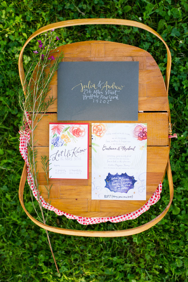 Photo credit: Ayres Photography; Invitations & Calligraphy: Kelly Place