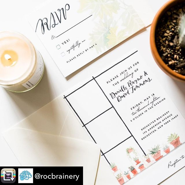 So excited for these to launch! 👌🌿🔲Thanks @rocbrainery for the opportunity to contribute to your events 💚. Repost from @rocbrainery using @RepostRegramApp - You're Invited! ✉️ No, not to the event on this sample invite. 🤓 But to put your details on this very invite for your event at our space! We figure, if you like the look of our Green Room, and you're looking for an invite to set the mood for your event, you might like an invite to match. 🌿 So, we teamed up with @kellyplacecreative to create these invites for you! ⠀ You also have a few options to choose from... ✍️ Order the standard invite to get a digital copy that you can print on your own. Or, check out our add-on package that includes printing, envelopes, and calligraphy on the outer envelope. ⠀ ⠀ What do you think? 💕 We popped the link to the invites into our profile so you can check them out (or place an order, if you'd like)!