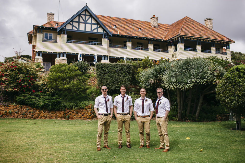 Groomsmen Caves House