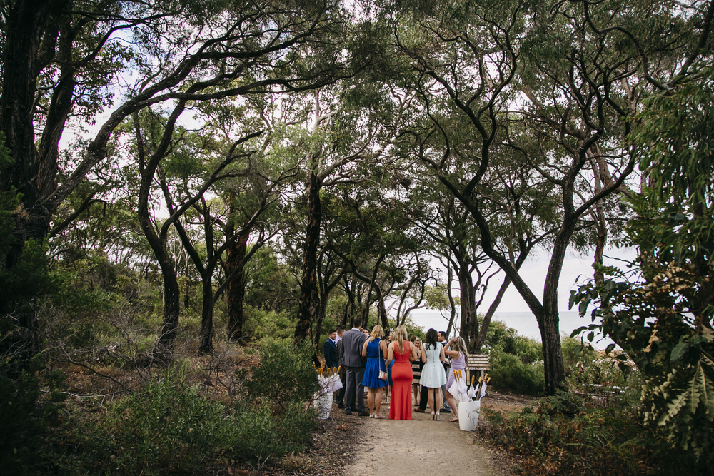 wedding ceremony meelup beach dunsborough
