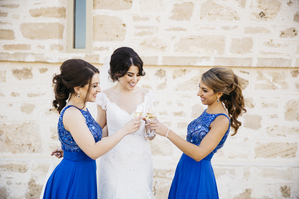 bride and bridesmaids kidogo arthouse fremantle