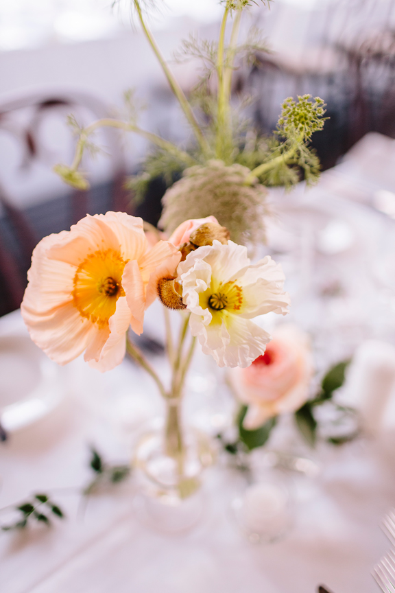 zinnia floral designs reception