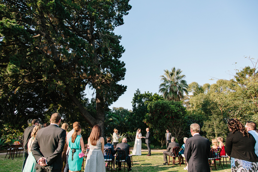 mt eliza house wedding ceremony